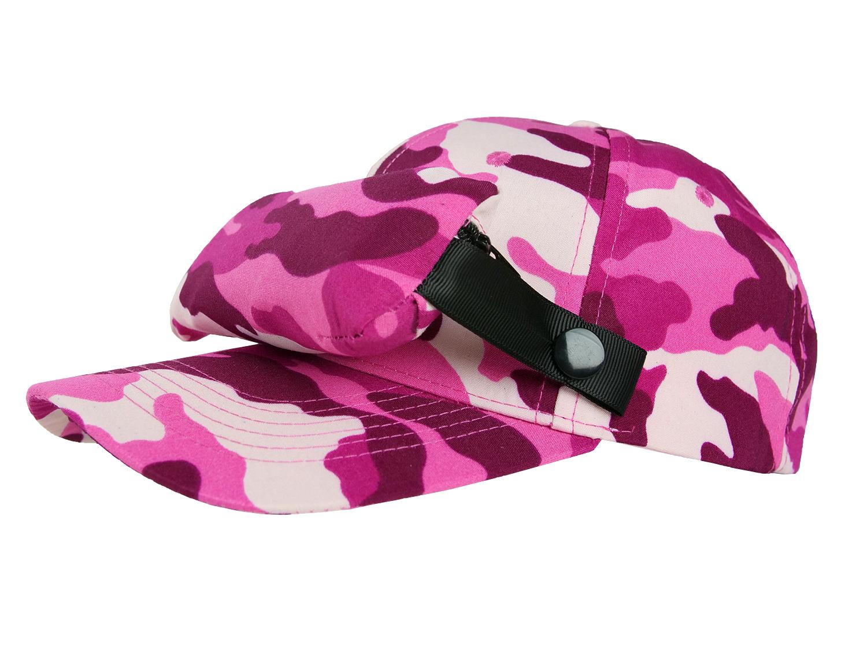 Bug Cap_Camouflage Pink